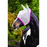 ObrázekAmigo by Horseware FlyMask Silver/Purple Pony