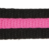 Image ofKavalkade Lunging Side Rope KavalDuo black and pink
