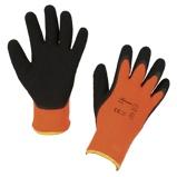 Abbildung vonCovalliero Winterhandschuh IceGrip Latex Orange 10/XL