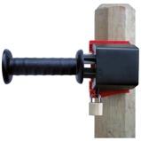 Abbildung vonAko Abschließbares Torsystem GateLock Schwarz/Rot