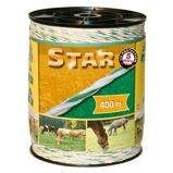 """Afbeelding vanKerbl Schrikdraad """"Star"""" 400 m wit en groen"""