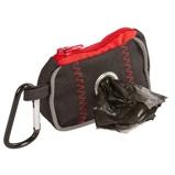 Abbildung vonKerbl Tasche für Kotbeutel Schwarz/Rot 8x5,5x4cm