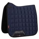 ObrázekLeMieux Dressage Saddle Cloth Carbon Mesh Air CC Sq Navy L