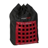 Image ofLeMieux Hay Bag Black/Red