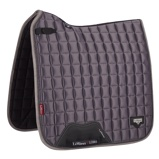ObrázekLeMieux Dressage Saddle Cloth Loire Classic Satin Sq Grey L