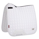 ObrázekLeMieux Dressage Saddle Cloth Loire Classic Satin Sq White L