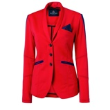 ObrázekMountain Horse Competition Jacket Glory Intense Red L