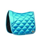 ObrázekWeatherbeeta Saddle Pad Regal Luxe Dressage Turquoise Full