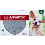 Image ofAdvantix Dewormer 40/200 Spot On Dog <4kg 24 Pipettes