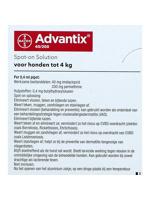 Thumbnail of Advantix Dewormer 40/200 Spot On Dog <4kg 24 Pipettes