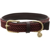 Image ofKentucky Collar Plaited Nylon Bordeaux 62cm