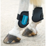 Billede afArma by Shires Fetlock Boots Green/Blue Cob/Full