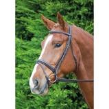 Abbildung vonAviemore by Shires Trense Comfort Fit Schwarz Pony