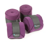 Billede afArma by Shires Bandages Fleece Plum One Size