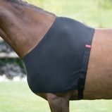 Image ofShires Stretch Vest Anti Rub Black Full