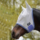 ObrázekWeatherbeeta Fly Mask Airflow Grey/Blue Cob