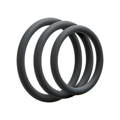 Image of 3 C Ring Set Thin Slate