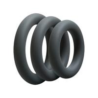 Thumbnail of 3 C Ring Set Thick Slate