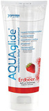 Abbildung vonAQUAglide Erdbeer Gleitmittel 100 ml in Durchsichtig