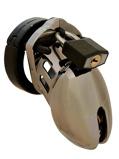 Abbildung vonCB 6000S Keuschheitskäfig Chrom 35 mm in Silber