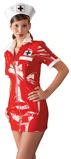 Abbildung vonKrankenschwester Kleid in Rot (Größe: Small)