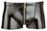Abbildung vonLack Pants mit Reißverschluss in Schwarz (Größe: Small)