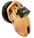 Abbildung vonCB 6000S Gold Chastity Cage