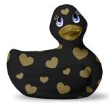 Abbildung vonI Rub My Duckie 2.0 Romance Schwarz/Gold (8cm)