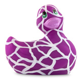 Abbildung vonI Rub My Duckie 2.0 Wild Safari in Lila (8cm)