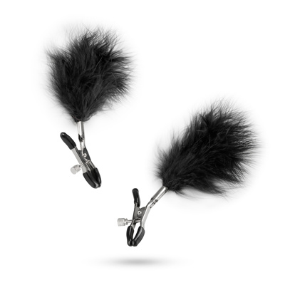 Image of Adjustable Nipple Clamps With Feathers