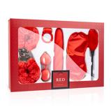 Abbildung vonLoveBoxxx I Love Red Liebespaar Box in Rot