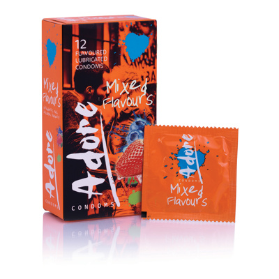 Image of Adore Flavours Condoms 12 Condoms