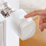 Afbeelding vanEVE eve Thermo Smart Home radiatorthermostaat, kunststof, B: 5.4 cm, H: 6.7 cm