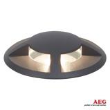 Afbeelding vanaeg Tritax LED grondspot inbouwlamp, vierzijdig, aluminium, kunststof, glas, 3 W, energie efficiëntie: A+, H: 2 cm