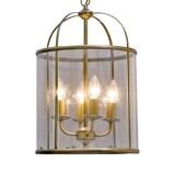 Afbeelding vanSteinhauer BV decoratieve hanglamp Pimpernel, 32 cm, voor hal, glas, metaal, E14, 40 W, energie efficiëntie: A++