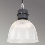 Afbeelding vanSikrea hanglamp Clearvoyant in fabrieksstijl, voor woon / eetkamer, metaal, kunststof, E27, 60 W, energie efficiëntie: A++, H: 55 cm