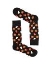 Afbeelding vanHappy socks Hamburger Sock Zwart
