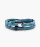 Image of Pig & Hen Bracelet Salty Steve Sky Blue Black S
