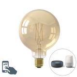 Imagine dinCalex Smart E27 LED G125 Gold 7W 806LM 1800K 3000K