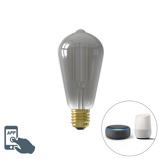 Imagine dinCalex Smart E27 LED ST64 Smoke 7W 400LM 1800K 3000K
