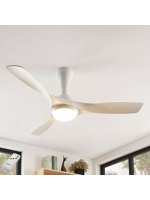Thumbnail of Ceiling fan white incl. LED and remote control - Borga