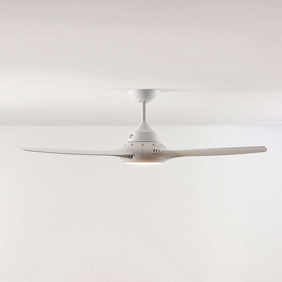 Image of Ceiling fan white incl. LED and remote control - Aila