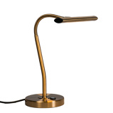 Εικόνα τουArt Deco bronze table lamp incl. LED Tableau