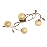 Imagine dinClassic Ceiling Lamp 4 Rust Kreta