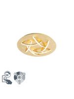 Thumbnail of Art Deco ceiling lamp gold incl. LED - Delphina