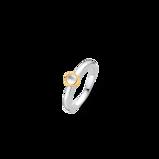 Kép:TI SENTO - Milano 925 Sterling Zilveren Ring 1868MW/52 (Maat: 52)