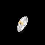 Abbildung vonTI SENTO Milano Ring Silver gold plated Silver yellow gold plated Damen 12154SY