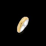 Abbildung vonTI SENTO Milano Ring Silver gold plated Silver yellow gold plated Damen 12164SY