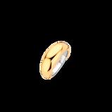 Abbildung vonTI SENTO Milano Ring Silver gold plated Silver yellow gold plated Damen 12172SY