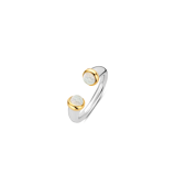 Abbildung vonTI SENTO Milano Ring Silver gold plated Mother of pearl Damen 12177MW